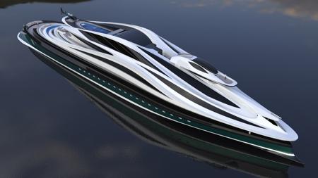 Swan Inspired Yacht