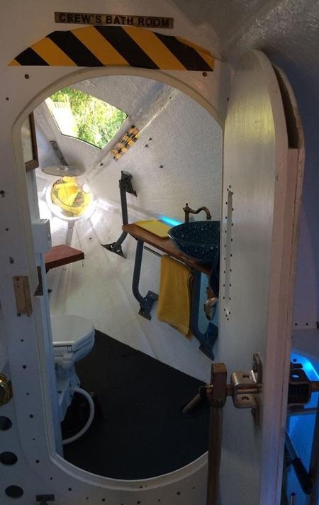 Yellow Submarine Inspired House