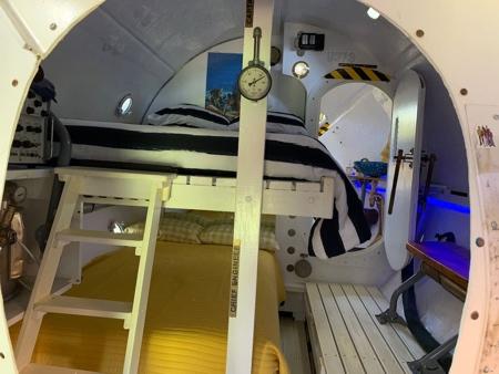 Submarine Shaped House