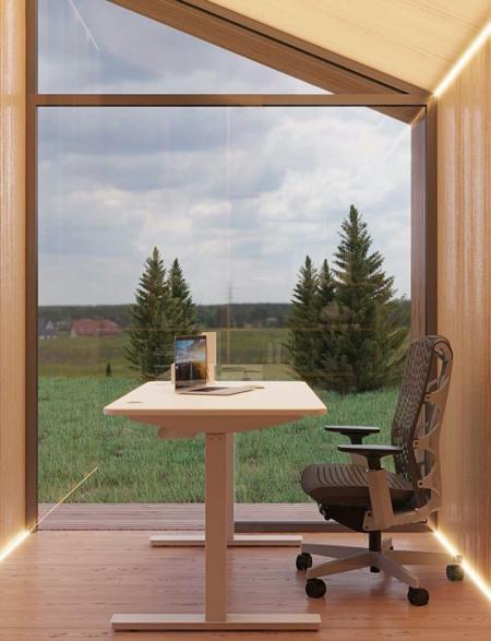 Backyard Office Pod