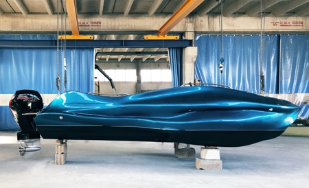 3D Printed Speed Boat