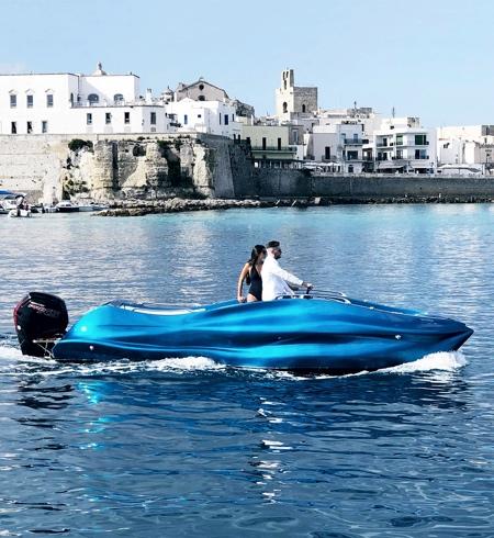 3D Printed Fibreglass Boat