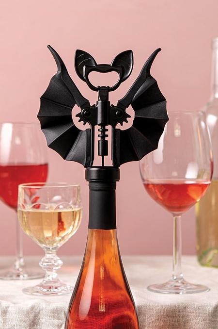 Bat Corkscrew Bottle Opener