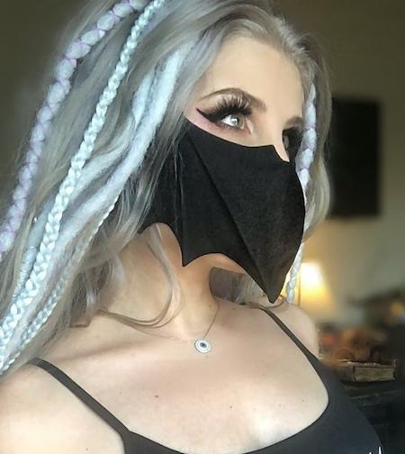 Heathyr Lawrence Bat Mask