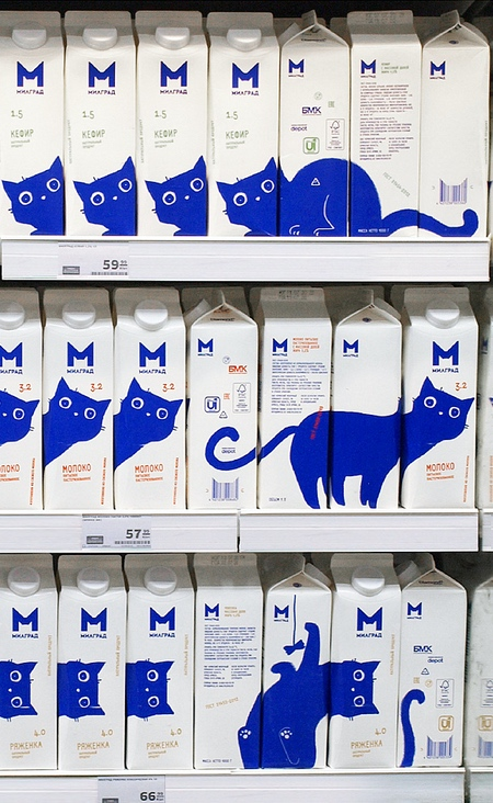Cat Milk Carton