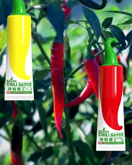 Chili Sayce Packaging