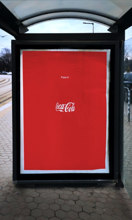 Coca Cola Invisible Bottle Publicis Italy