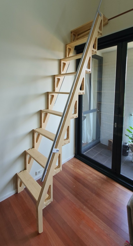 Bcompact Folding Staircase