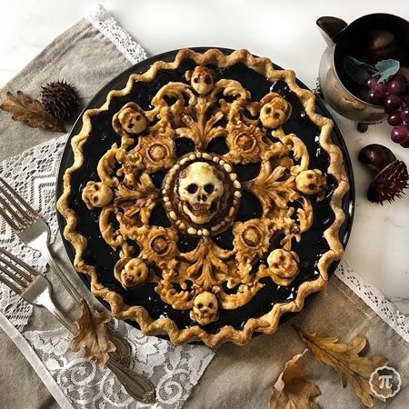 Scary Halloween Pie