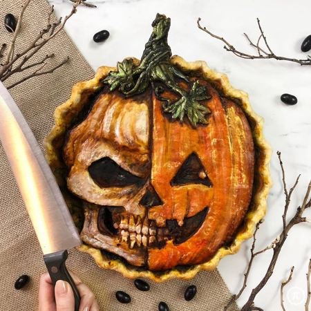 Scary Pie for Halloween