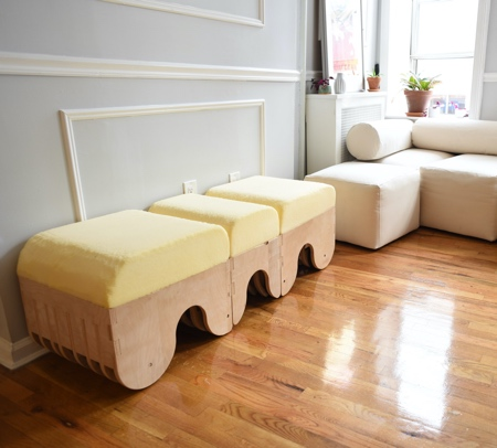 Hannah Fink Home Exercise Bench