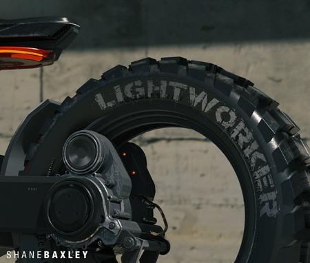 Shane Baxley Hubless Motorcycle