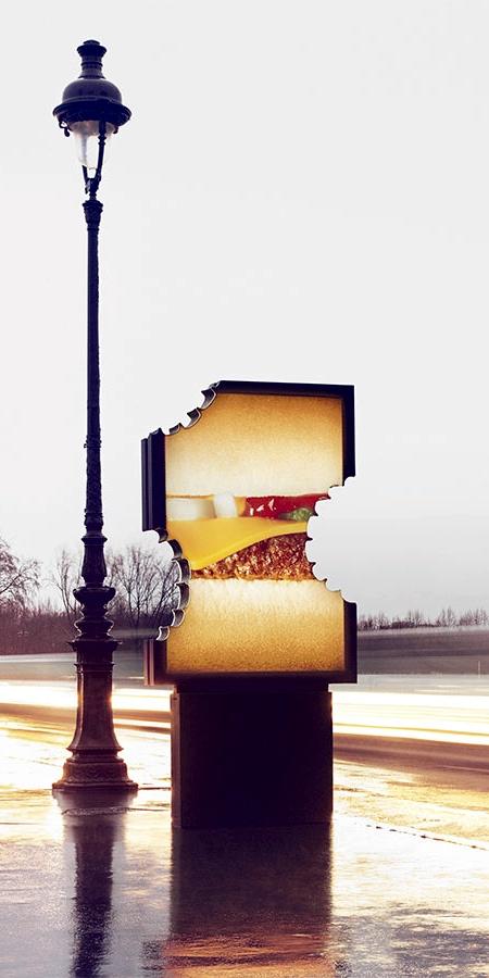 McDonald's Bite Billboard