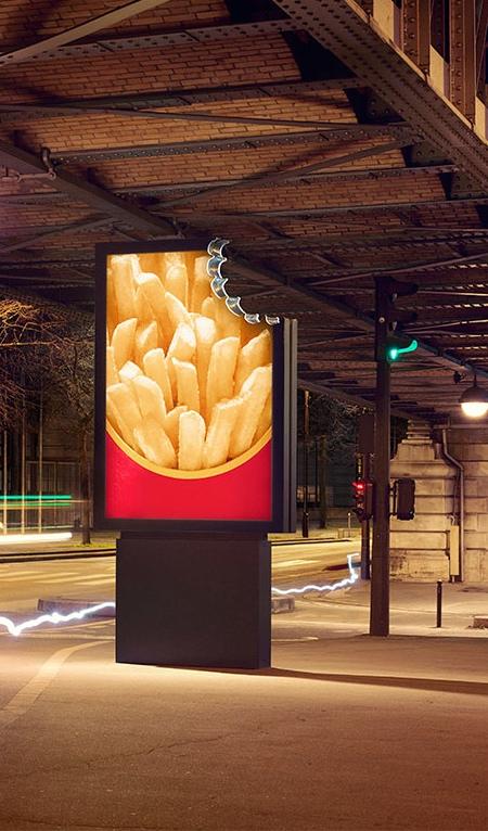 McDonald's Bite Billboards