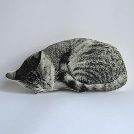 Realistic Cat Pillow