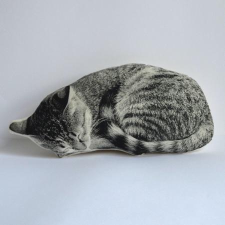 Realistic Cat Pillow