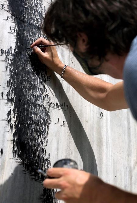 Strength Street Art by Pejac