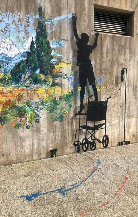 Hospital Street Art