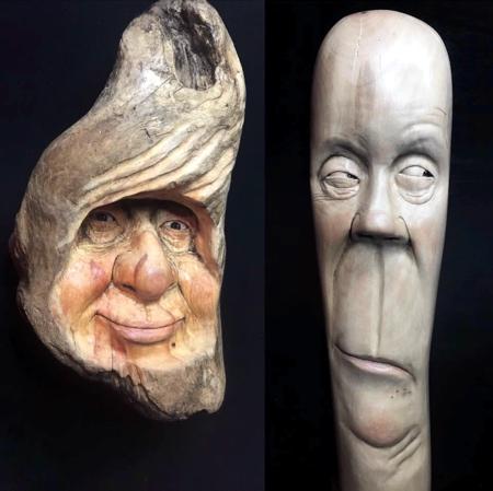 Josh Carte Wood Carving