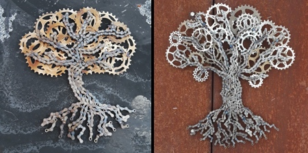 Bicycle Chain Trees