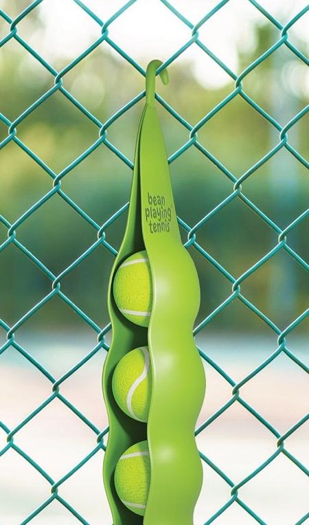 Green Bean Tennis Balls