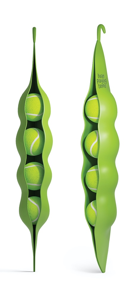 Green Bean Tennis Ball Packaging