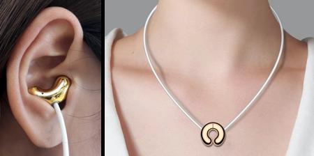 Necklace Earphones