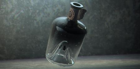 Happy Ghost Bottle