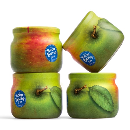 Apple Jam Packaging