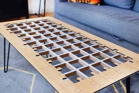 Matt Benedetto Jigsaw Puzzle Coffee Table