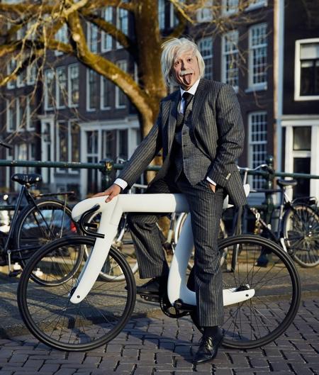 Pi Symbol Bike