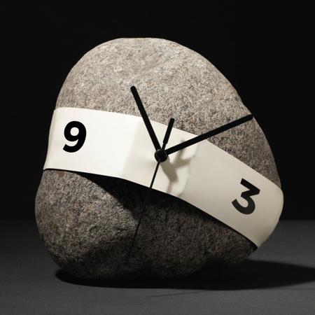 Nicholas Baker Stretch Clock