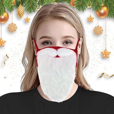 Santa Face Mask