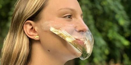 Self-Adhesive Face Mask