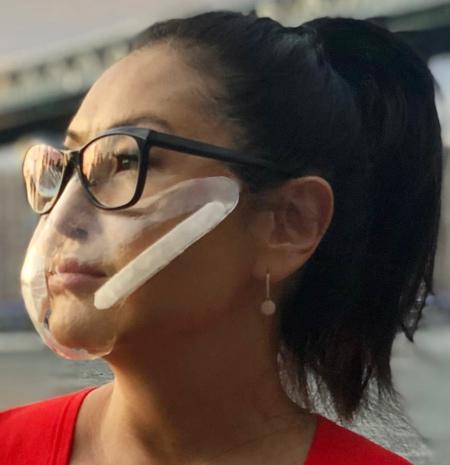 Sticky Face Mask