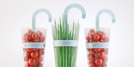 Vegetables Umbrella Packaging