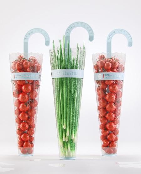 Vegetables Umbrella