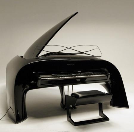 Whale Shaped Piano
