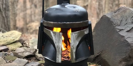 Boba Fett Wood Burner
