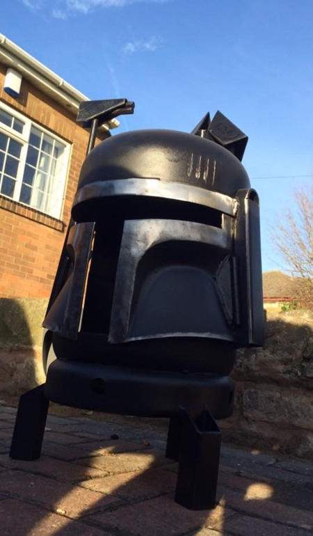 Star Wars Wood Burner