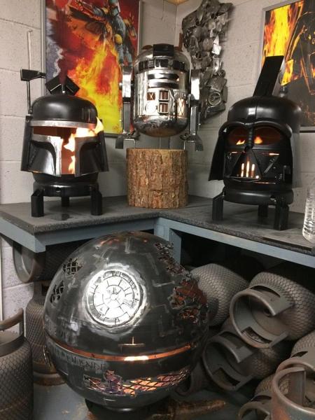 Star Wars Fire Pit