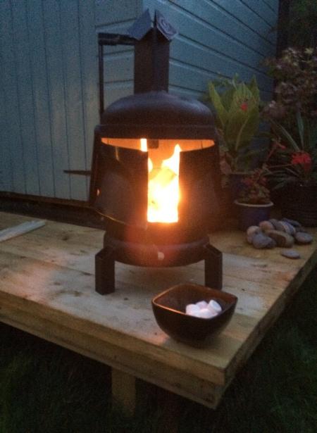 Mandalorian Wood Burner