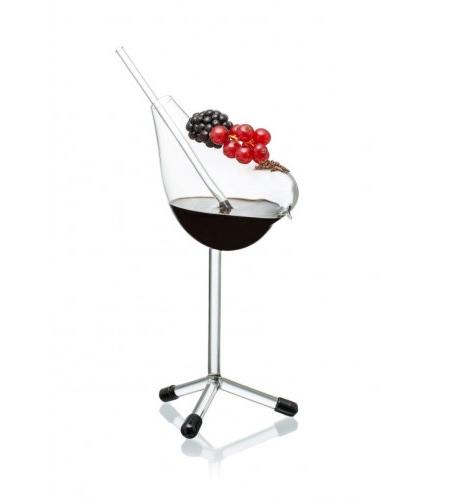 Bird Wine Glass