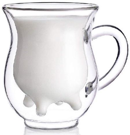 Calf and Half Milk Cup