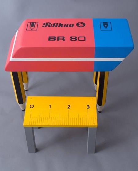 Eraser Shaped Desk