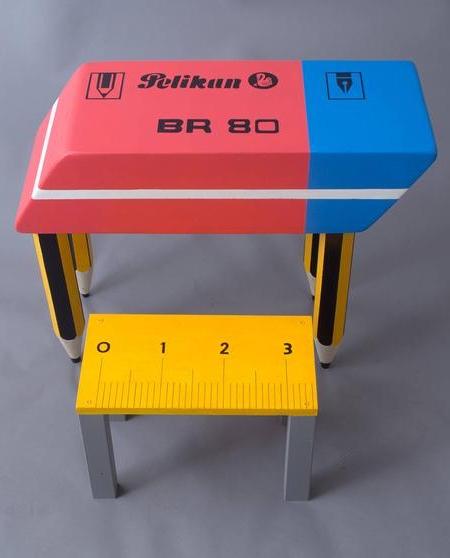 Eraser Shaped Desk