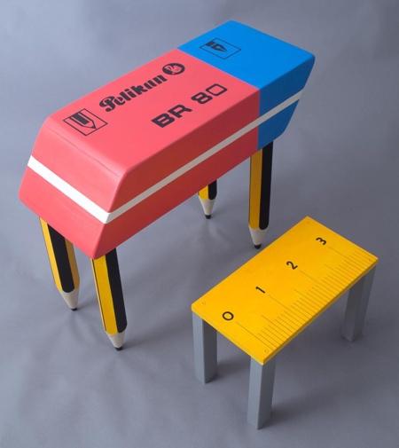 Big Eraser Desk