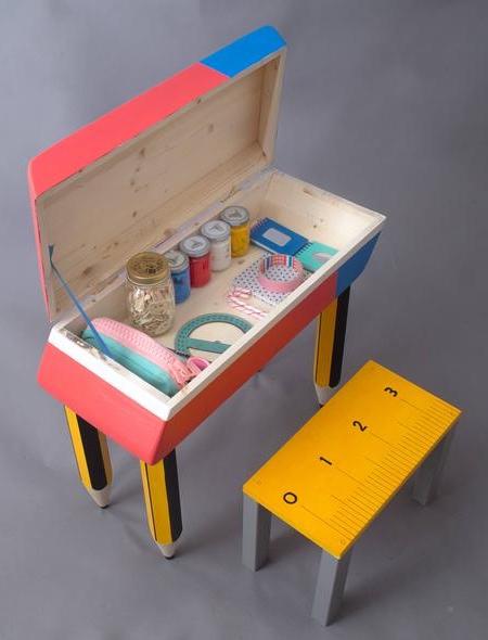 Eraser School Desk