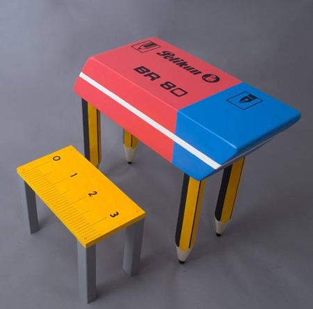 Eraser Table