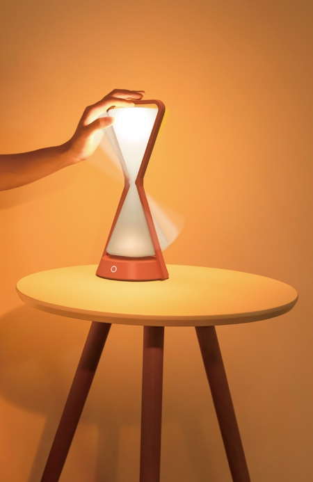 Hourglass Table Lamp